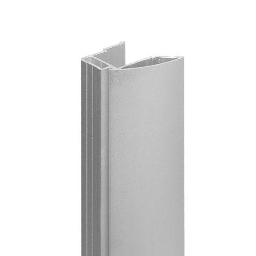 1 Paar Schiebetuer Griffe für 4 mm Glas, Kombi 4mm Glas + 12 mm Platte oder 16, 18 mm Plattenmateria