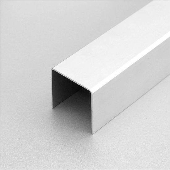 obere einläufigeFührungsschiene aus Aluminium