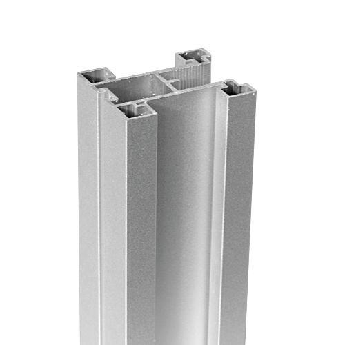 1 Paar Schiebetuer Griffe | TWIN Symetrisch | für 4 mm / 6 mm Glas und 8 mm / 10 mm Plattenemateria