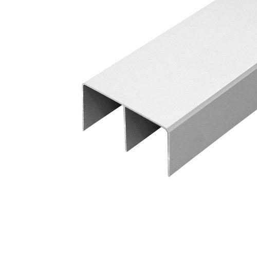 obere doppelläufige Führungsschiene aus Aluminium