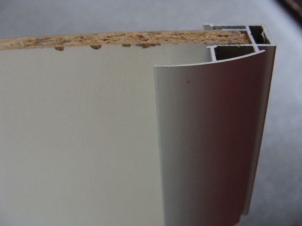 Griffprofil für 10 mm Plattenmaterial, stabile Ausführung,